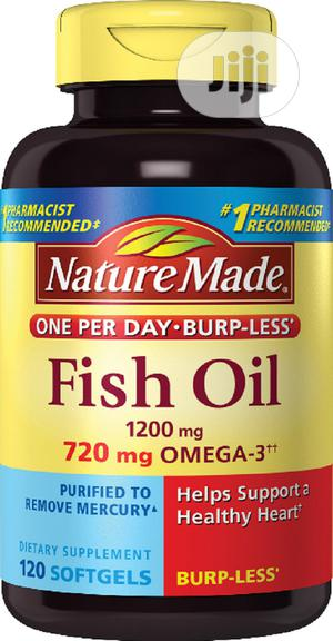 Nature Made 1200 Mg Fish Oil | Vitamins & Supplements for sale in Lagos State, Ojo