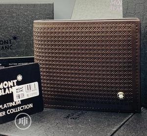 Montblanc Leather Wallet For Men's | Bags for sale in Lagos State, Lagos Island (Eko)