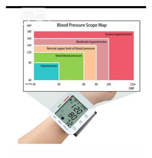 Wrist Electronic Blood Pressure Monitor | Medical Supplies & Equipment for sale in Rivers State, Port-Harcourt