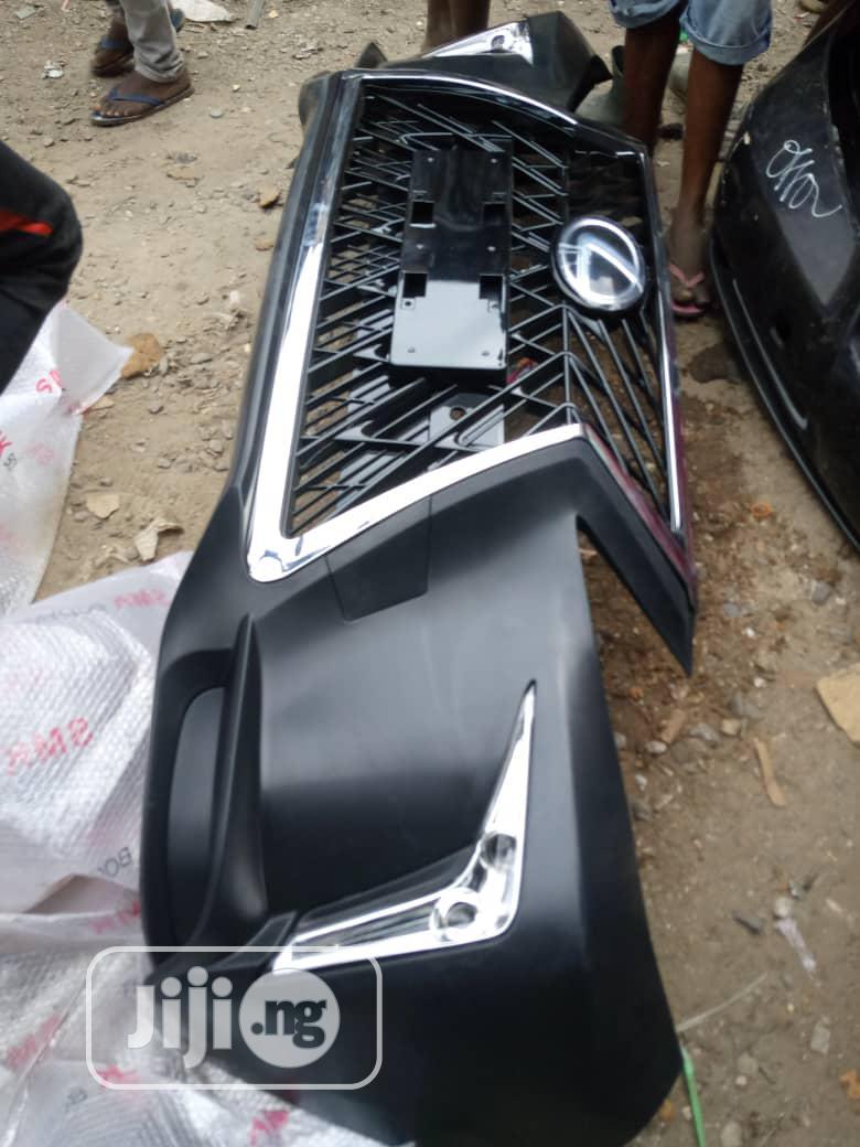 2018 Upgrade Bumper Lx Face Rx 350
