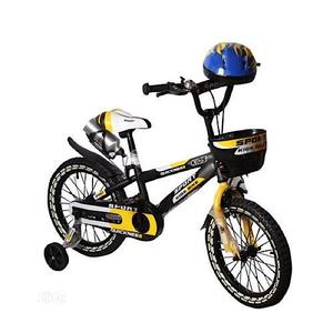 """Sport Children Bicycle (16"""") With Helmet   Toys for sale in Lagos State, Lagos Island (Eko)"""