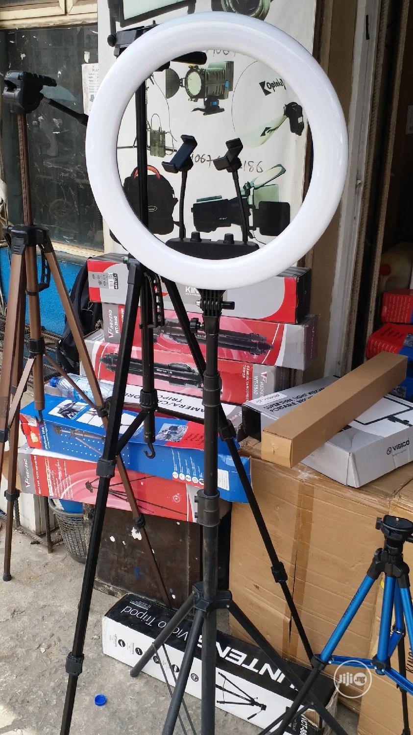 18 Inch Ring Light Tripod Stand
