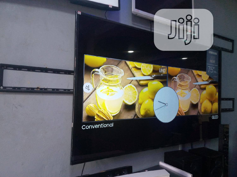 Samsung 75 Inches UHD 4k Smart TV. | TV & DVD Equipment for sale in Ojota, Lagos State, Nigeria