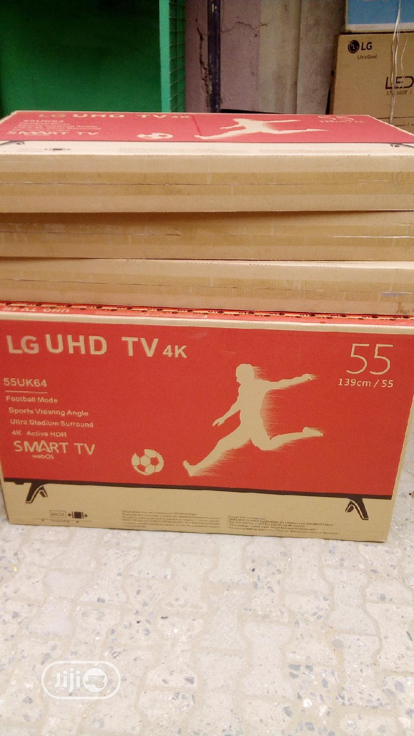 LG Smart 4K Television 55 Inches