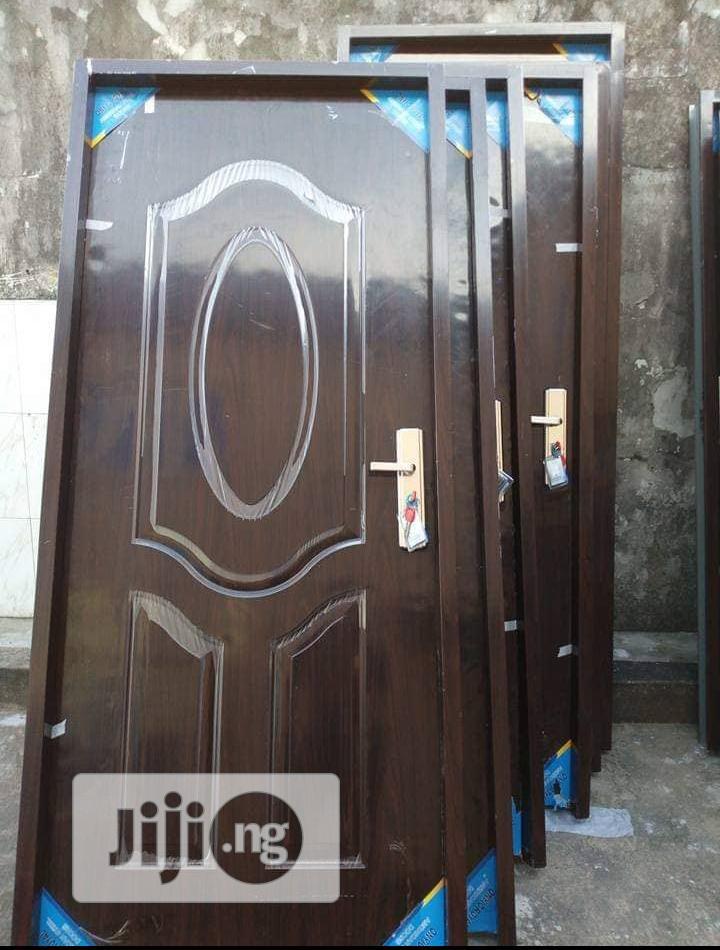3ft × 7ft American Panel Steel Door