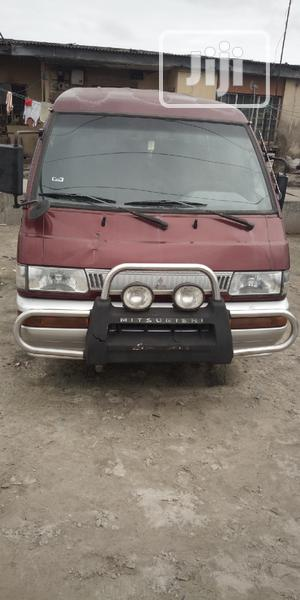 A Very Clean Mitsubishi L300 2005 Red   Buses & Microbuses for sale in Lagos State, Amuwo-Odofin