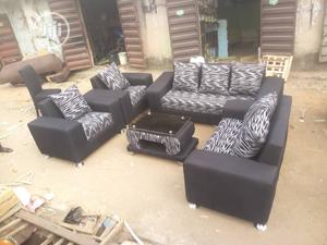 Quality Seven Seaters Sofa Chair With Center Table | Furniture for sale in Lagos State, Lekki
