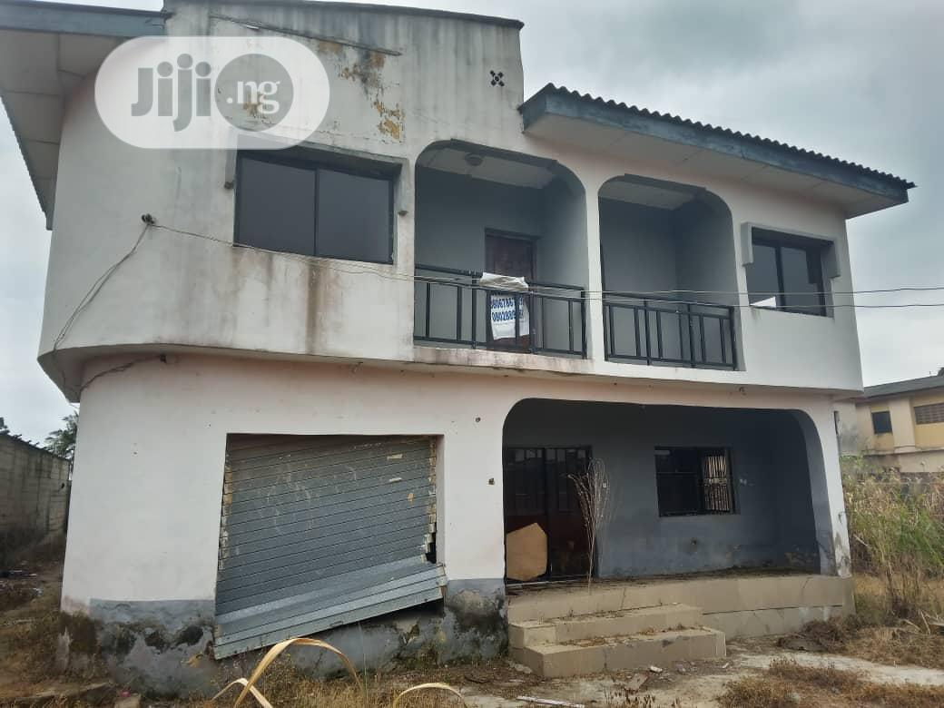 Archive: Vacant 4bedroom Duplex With 2nos of 3bedroom on a Full Plot