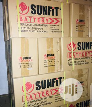 150ah 12v Sunfit Battery.   Solar Energy for sale in Lagos State, Lekki