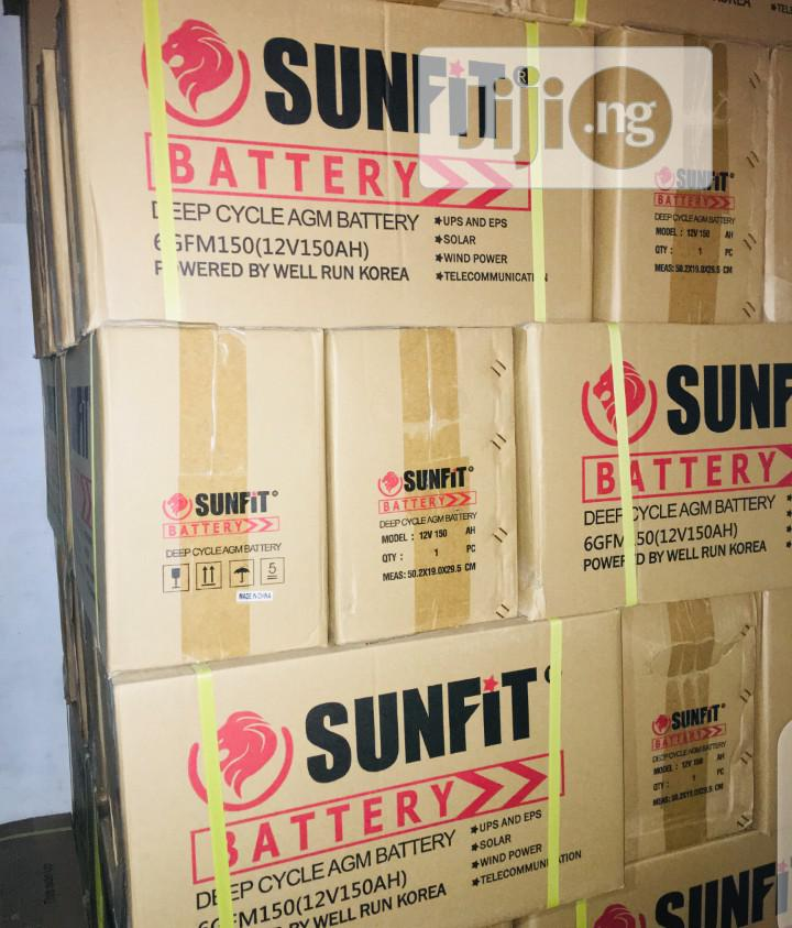 150ah 12v Sunfit Battery.