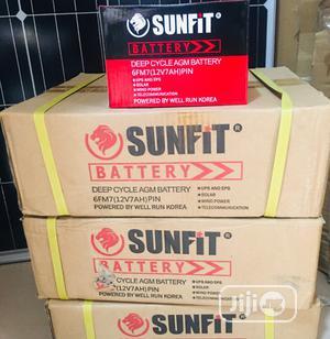 7ah 12v Sunfit Battery.   Solar Energy for sale in Lagos State, Lekki