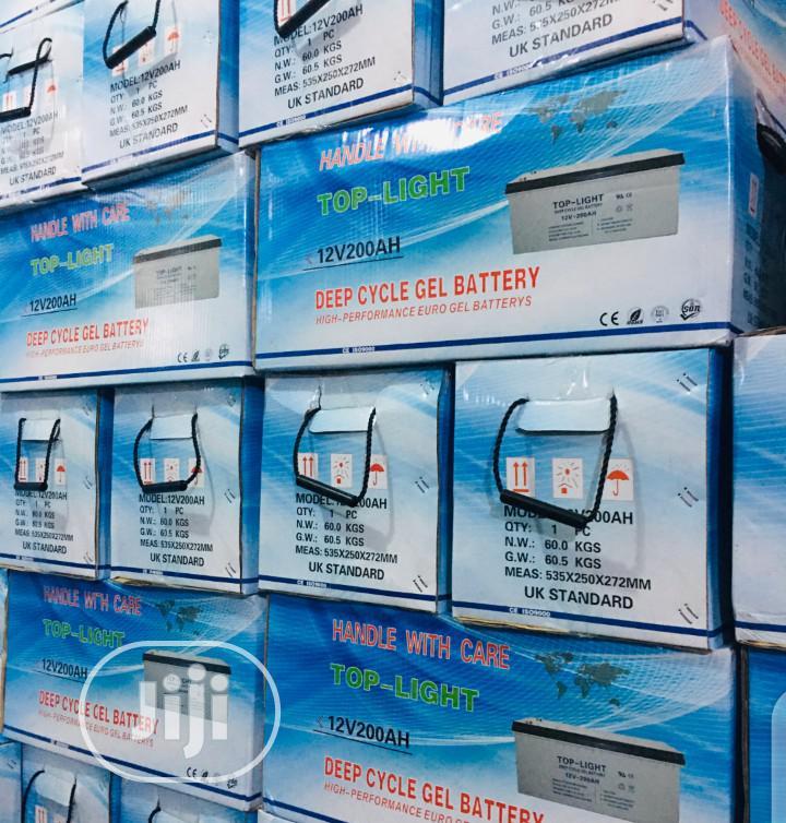 200ah 12v Toplight Battery.