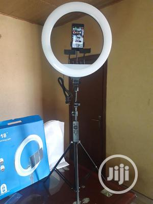 """18"""" Ring Light With 2.6M Stand 
