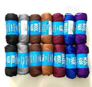 100% Acrylic Hand Machine Knitting Yarn -14 Pieces Multico   Hair Beauty for sale in Lagos State, Ojodu