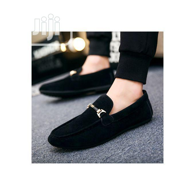 Designers Men's Swede Loafers Shoe - Black | Shoes for sale in Mushin, Lagos State, Nigeria