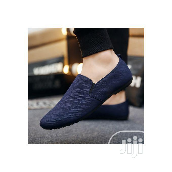 Men's Loafers Shoe - Blue