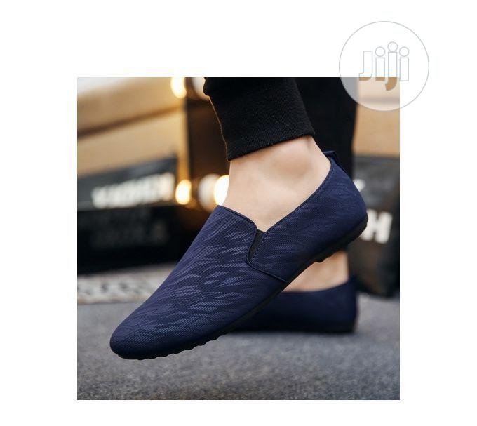 Men's Loafers Shoe - Blue | Shoes for sale in Mushin, Lagos State, Nigeria