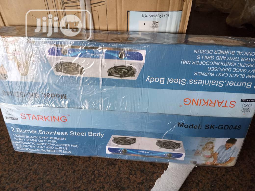Archive: Starking 2 Burner Table Top Gas Cooker