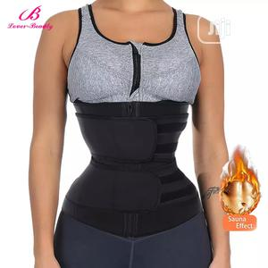 Original Double Belt Zip Waist Trainer for Gym   Clothing Accessories for sale in Abia State, Aba South