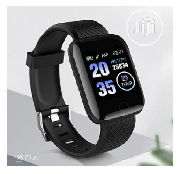 116plus Smart Watch With Blood Pressure Monitor