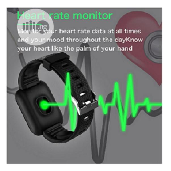 116plus Smart Watch With Blood Pressure Monitor | Smart Watches & Trackers for sale in Ikeja, Lagos State, Nigeria