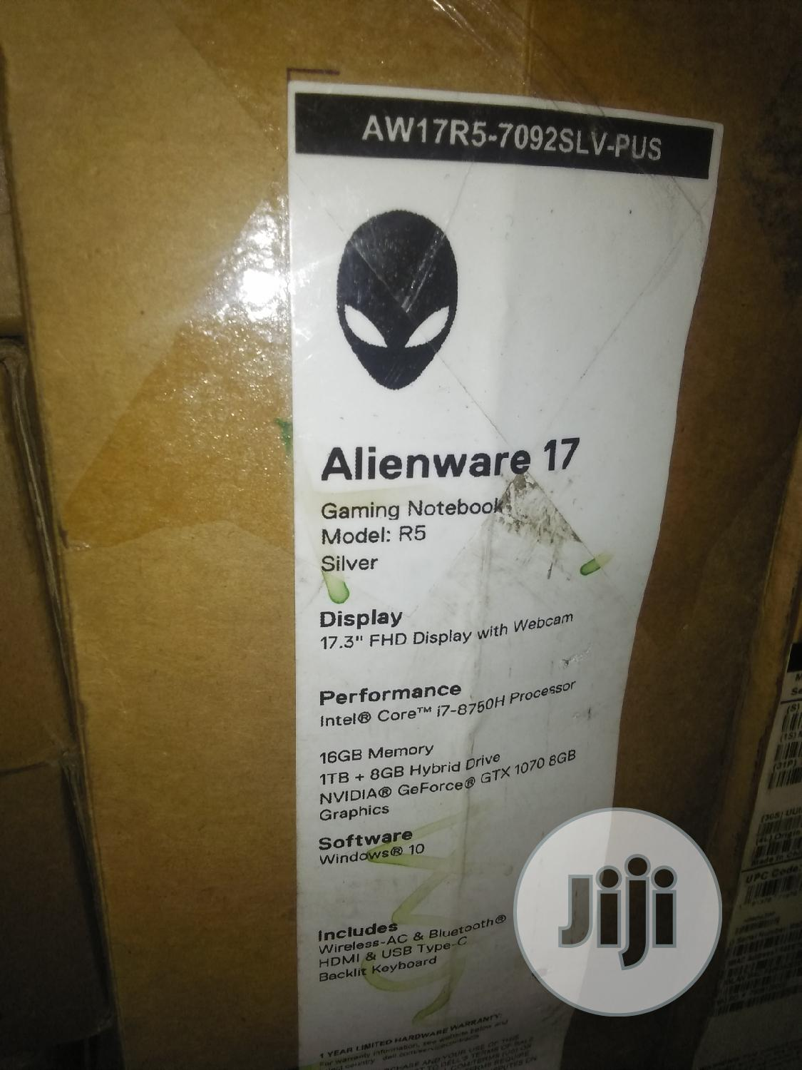 New Laptop Dell Alienware 17 16GB Intel Core i7 SSHD (Hybrid) 1T | Laptops & Computers for sale in Ikeja, Lagos State, Nigeria