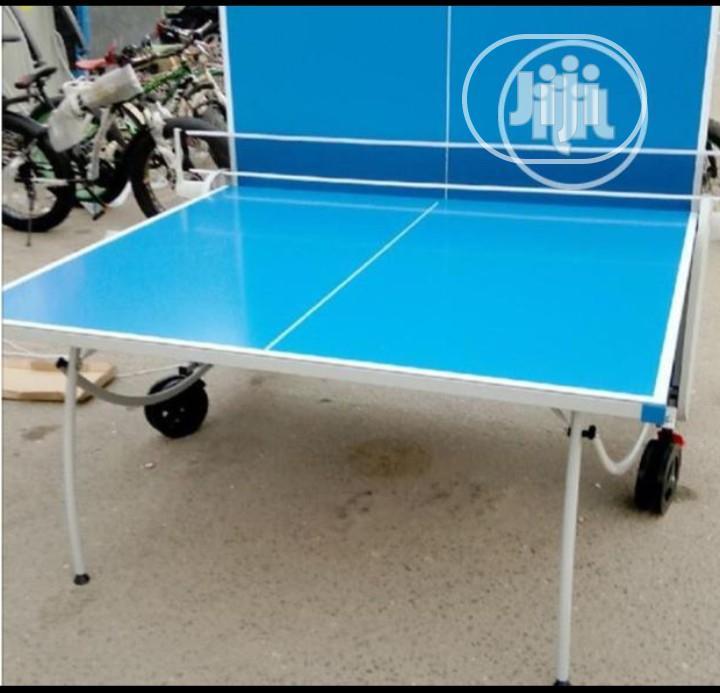 Water Resistant Table Tennis Board