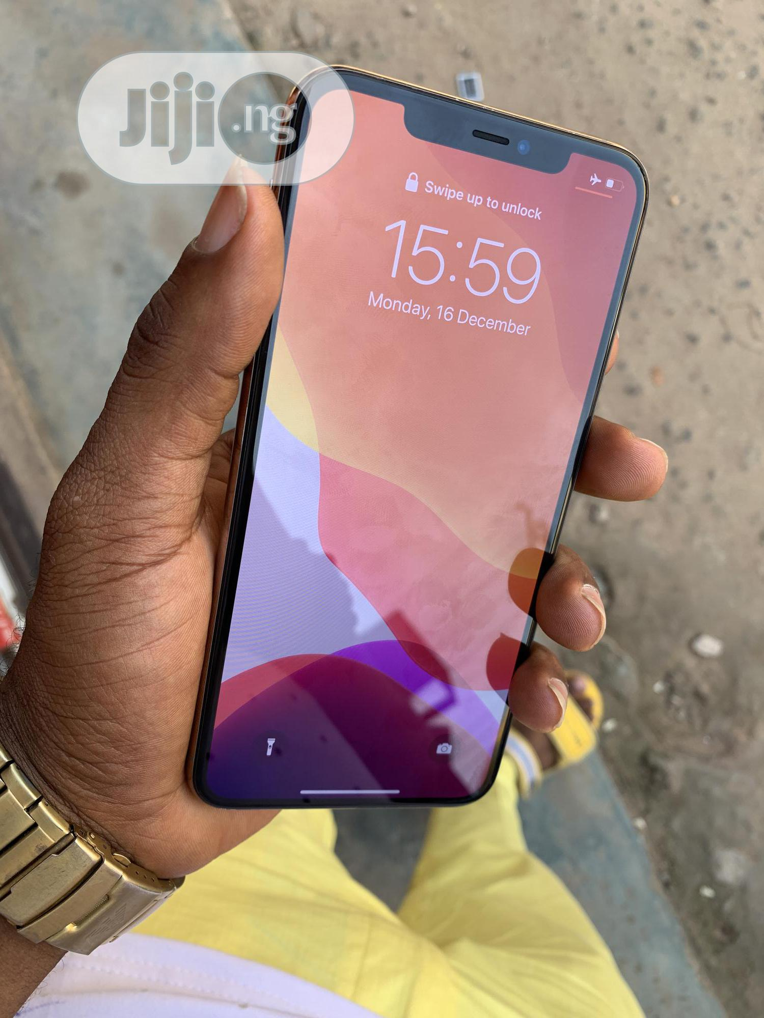Apple iPhone 11 Pro Max 256 GB Gold | Mobile Phones for sale in Benin City, Edo State, Nigeria