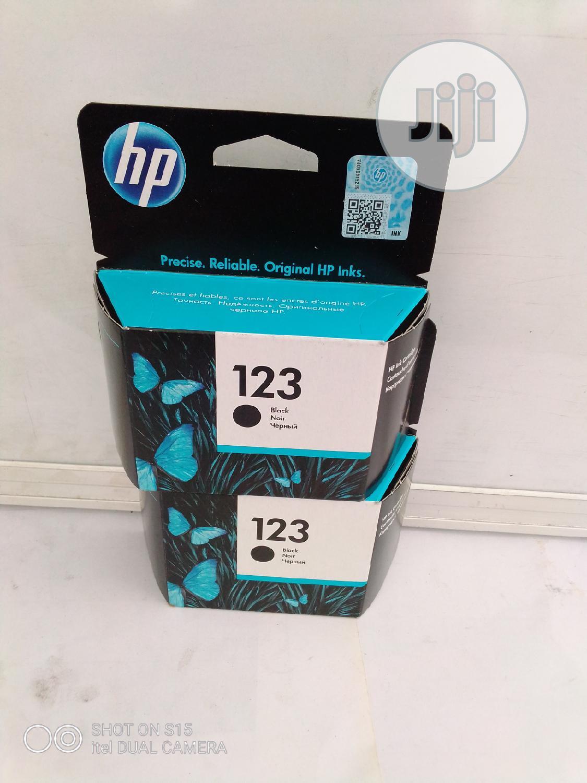 Archive: Original Hp Ink 123 Black Ink Cartridges