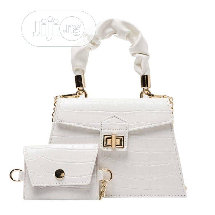 New Female Quality White Handbag
