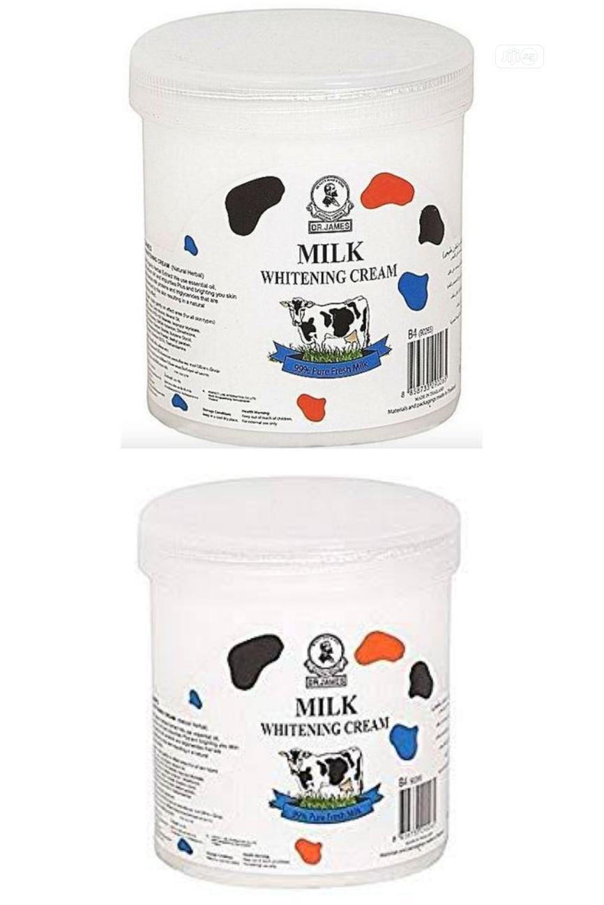 Dr. James Milk Whitening Cream - Treatment of Acne, Dry Skin