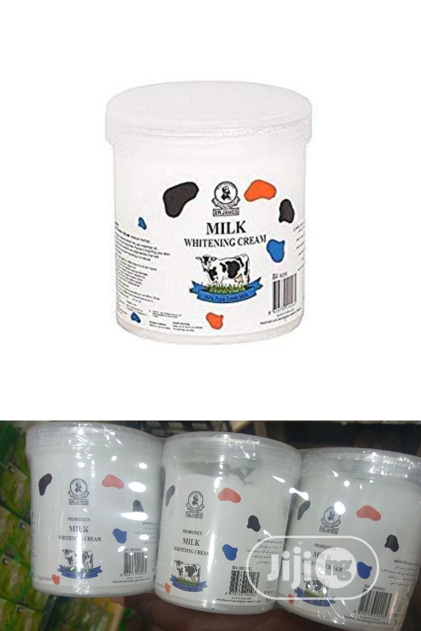 Dr. James Probiotics Milk Whitening Cream,Thailand Pack Of 3 | Bath & Body for sale in Amuwo-Odofin, Lagos State, Nigeria