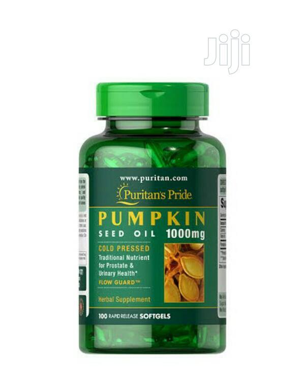 Puritan's Pride Pumpkin Seed Oil X 100
