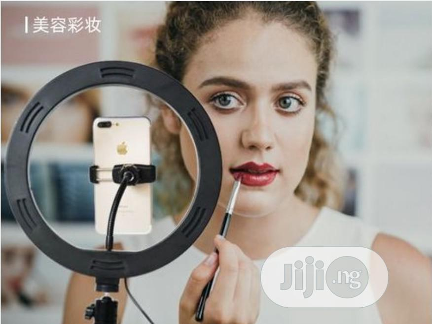 Archive: 10 Inches Led Ring Light Videography Full Set With Light Sta