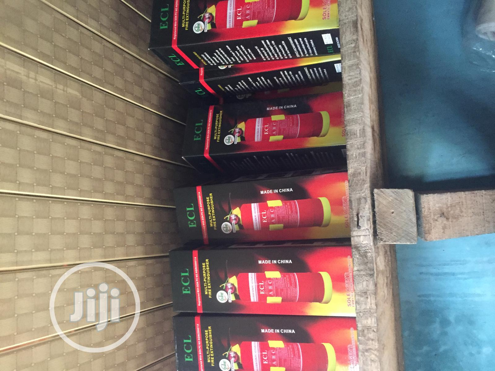 Fire Extinguisher C-Caution | Vehicle Parts & Accessories for sale in Ikeja, Lagos State, Nigeria