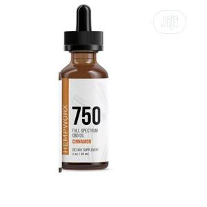 Hempworx 750 Mg CBD Pure Hemp and Herbal Drops (Cinnamon)   Vitamins & Supplements for sale in Lagos State, Amuwo-Odofin