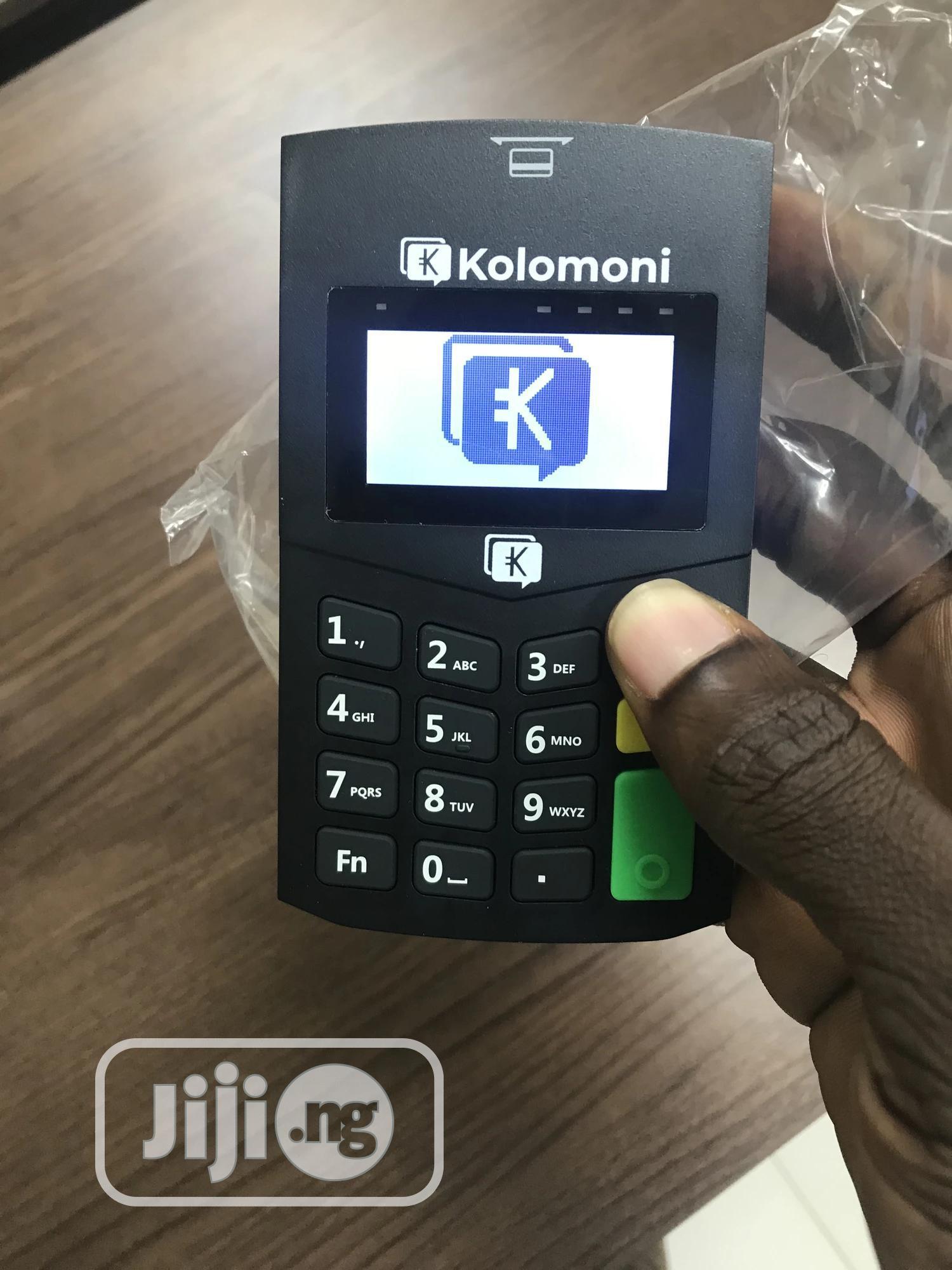 New Mobile POS Machine By Kolomoni
