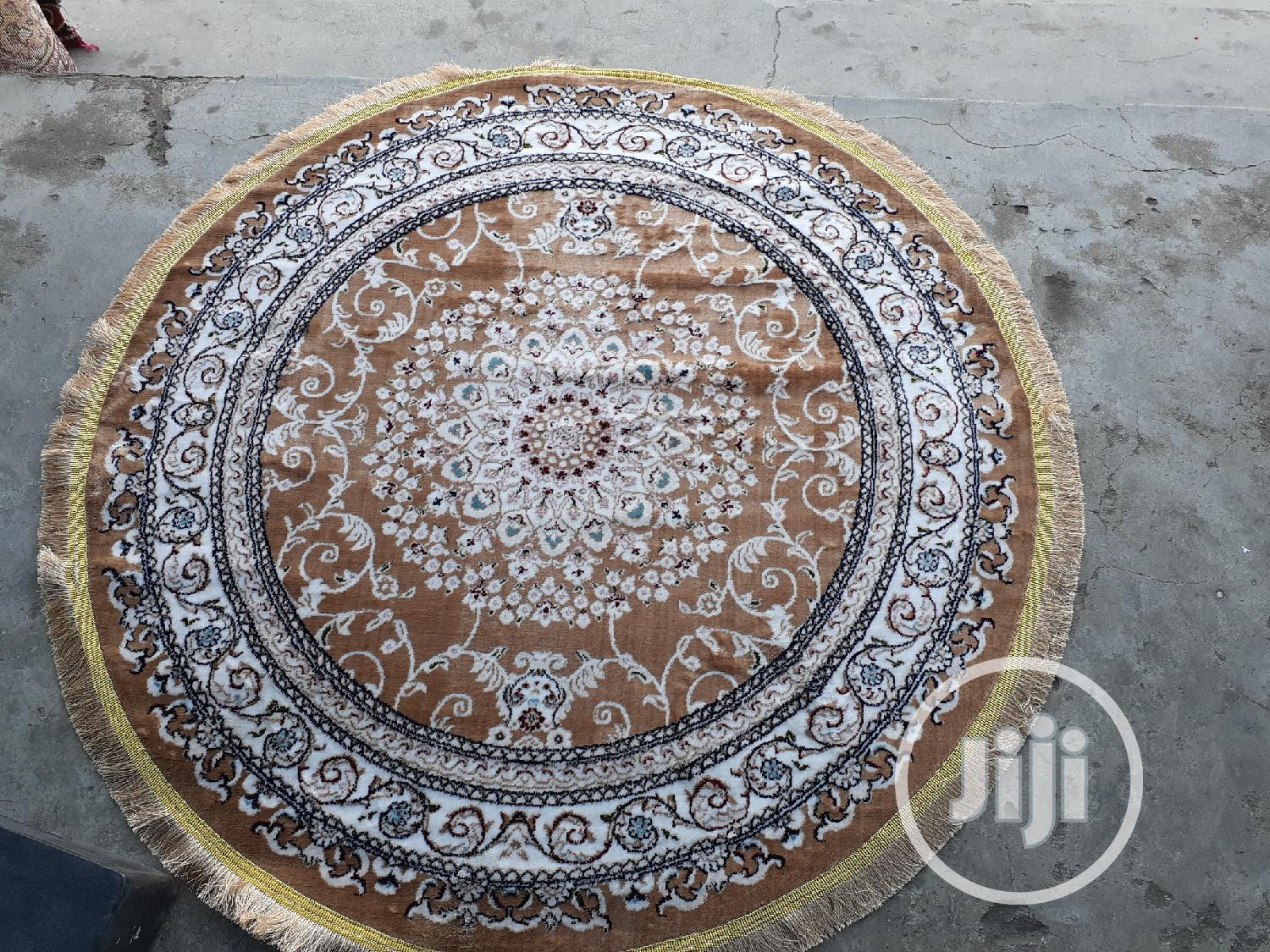 200×200cm Round Persian Arabian Center Rug | Home Accessories for sale in Yaba, Lagos State, Nigeria