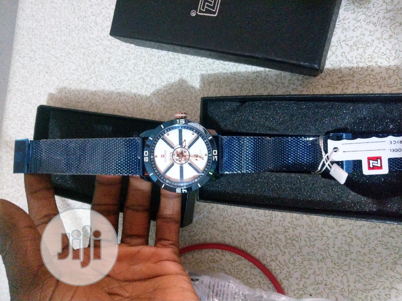 Archive: Men Naviforce Wrist Watch