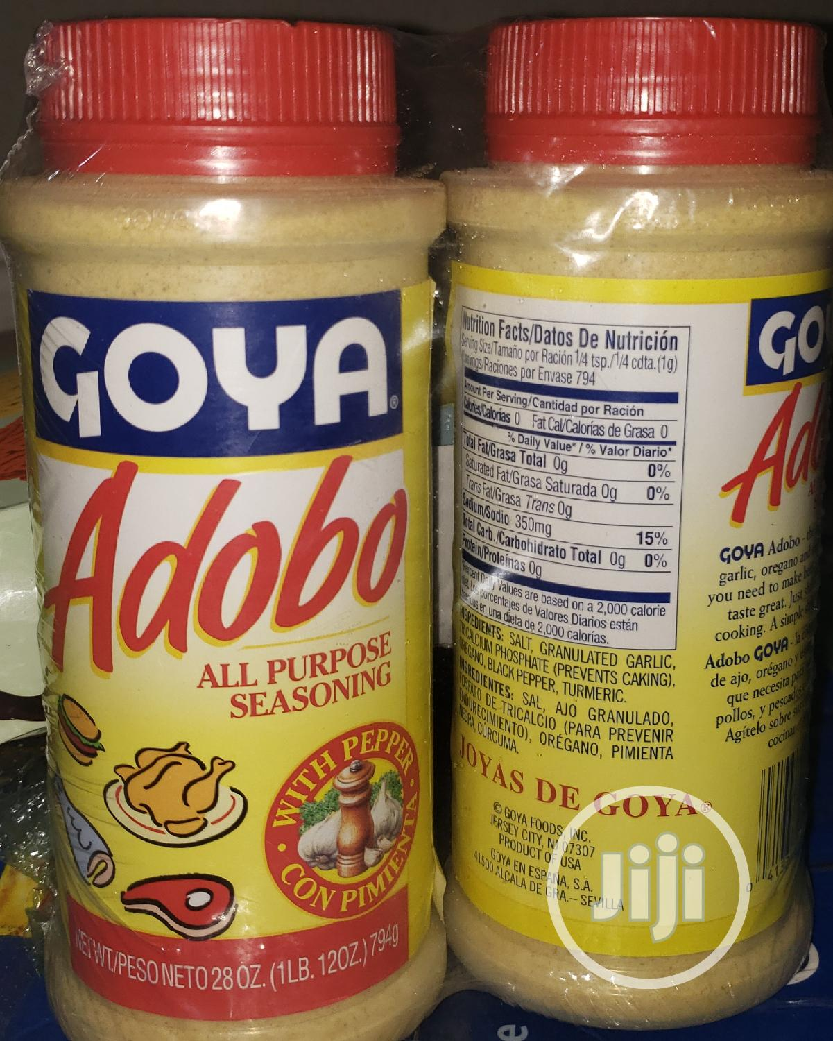 Goya Adobo Seasoning In Lagos Island Eko Meals Drinks Adekemi Oshisanya Jiji Ng