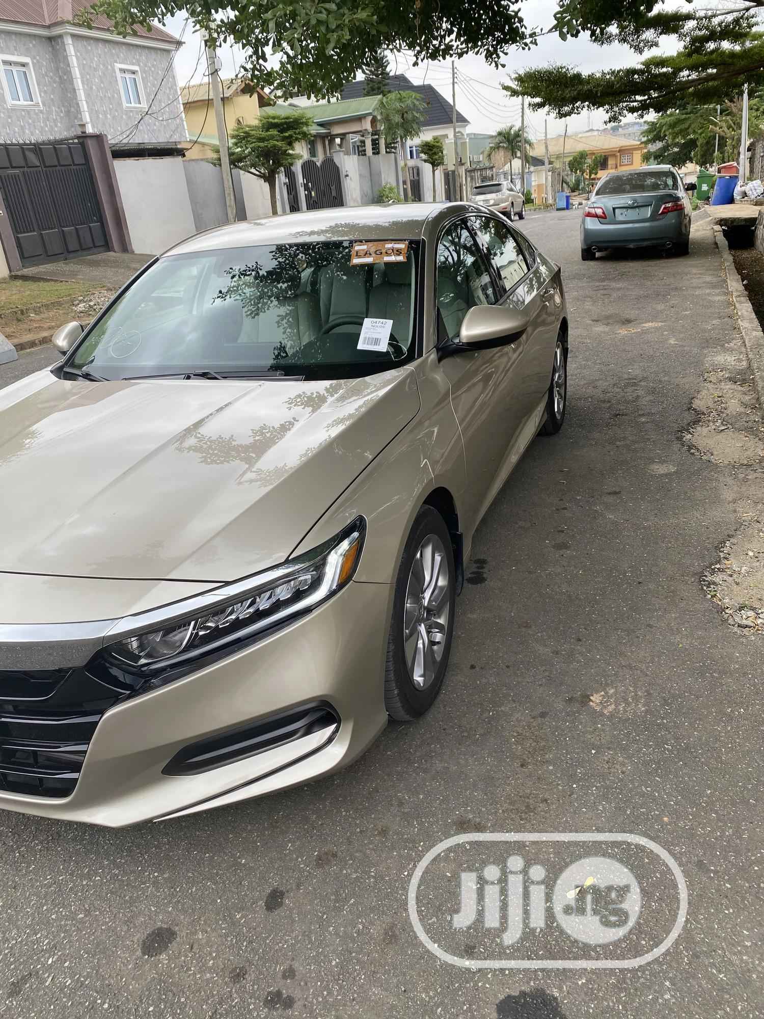 Honda Accord 2019 Gold   Cars for sale in Ikeja, Lagos State, Nigeria