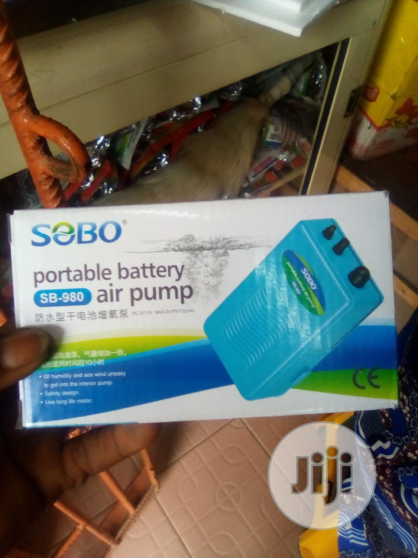 Aquarium Battery Air Pump | Pet's Accessories for sale in Surulere, Lagos State, Nigeria