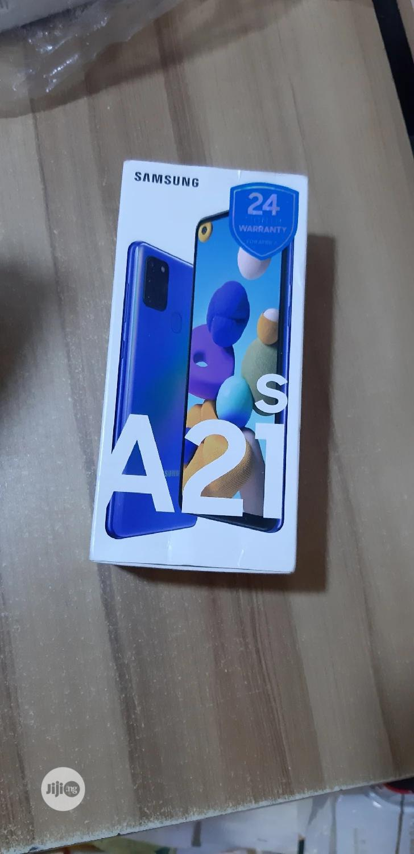 New Samsung Galaxy A21s 64 GB Black