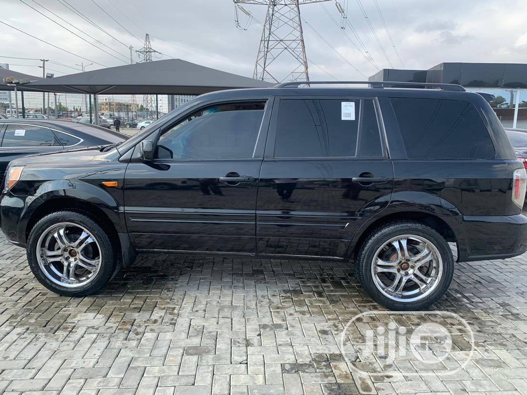 Honda Pilot 2008 Black | Cars for sale in Lekki, Lagos State, Nigeria