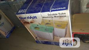 Duravolt 7.8kg Twin Tub Washing Machine | Home Appliances for sale in Lagos State, Ojodu