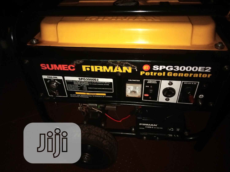 Archive: Generator Sumec Firman Spg3000e2
