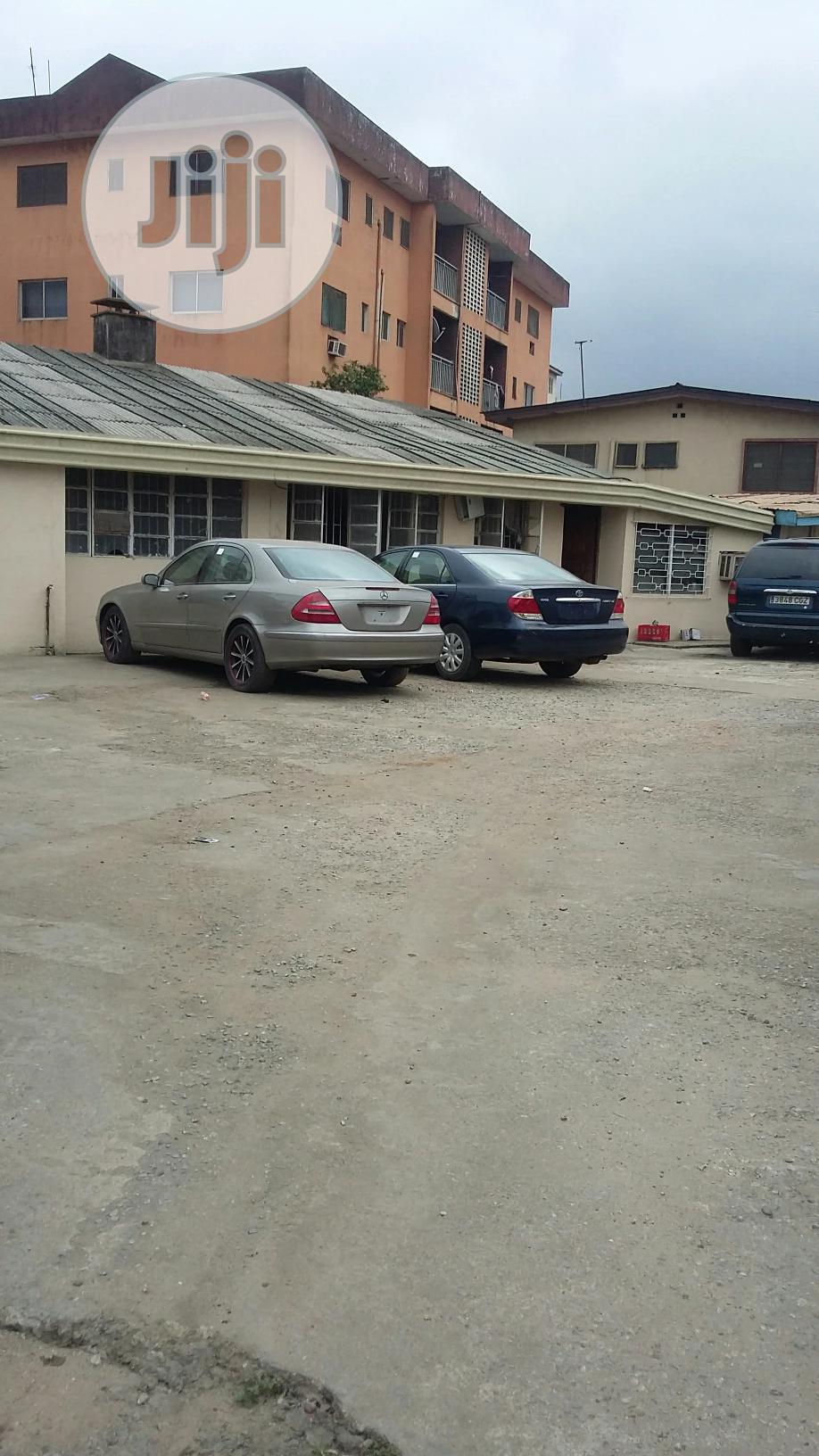 Twin Bungalow on Large Expanse of Land on Oba Akran Rd Ikeja