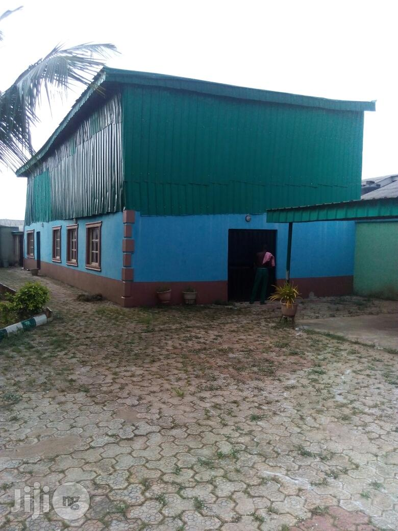 Ware House/Factory On Half Plot Of Land For Lease