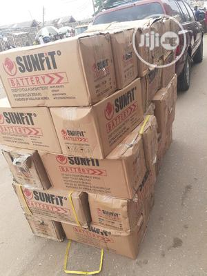 12v 200ah Sunfit Battery Is In   Solar Energy for sale in Lagos State, Ojo