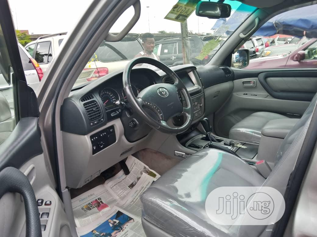 Toyota Land Cruiser 4.0 VVT-i Executive 2007 Silver | Cars for sale in Apapa, Lagos State, Nigeria